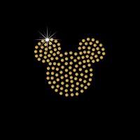 Mickey em cartela c/ 12 pçs - Ref: 2941