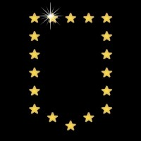 Bolso  Estrela em cartela c/ 4 pçs Ref: 3091
