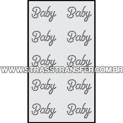 Baby em cartela c/ 10 pçs - Ref: 3853