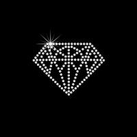 Diamante em cartela c/ 6 pçs Ref: 4031