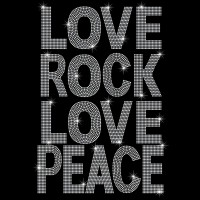 Love Rock Love Peace - Ref: 2663