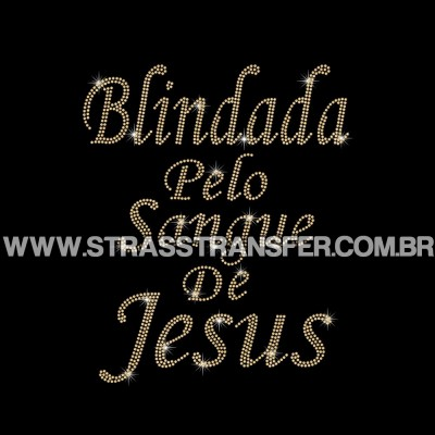 Blindada Pelo Sangue de Jesus - Ref: 2724