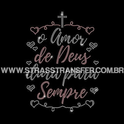 O Amor De Deus Dura Para Sempre - Ref: 3779