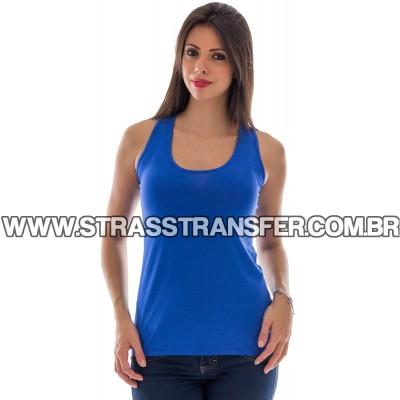 Blusa Regata Nadador Azul