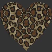 Coração Onça Ref: 02202