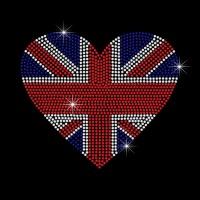 Coração Bandeira da Inglaterra Ref: 902