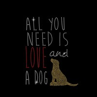 All You Need Is Love And A Dog - Ref: 2208