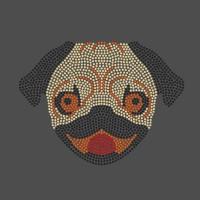 Pug Mãe - Ref: 3581