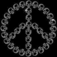 Simbolo da Paz Caveira - Ref: 0226