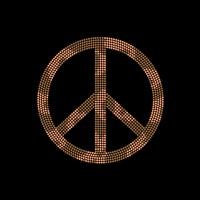 Simbolo da Paz - Ref: 24014